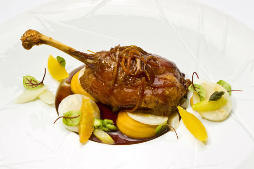 Thigh of duck confit